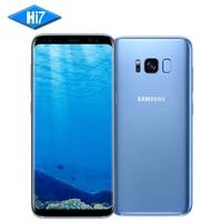 Originais Samsung Galaxy S8 Mais 6.2 polegada 4 GB/6 GB RAM 64 GB/128 GB ROM Dupla Snapdragon 835 Android 7.0 Impressão Digital de Telefonia móvel do Sim