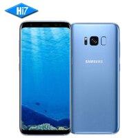 Original Samsung Galaxy S8 Cộng Với 6.2 inch 4 GB/6 GB RAM 64 GB/128 GB ROM Dual Sim Snapdragon 835 Android 7.0 Dấu Vân Tay Điện Thoại Di Động