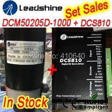 Набор продаж DCM50205D Leadshine Сервопривод с 4000 PPR Дифференциальных Состава Кодера и DCS810 Сервоприводов RS232 настройка кабель