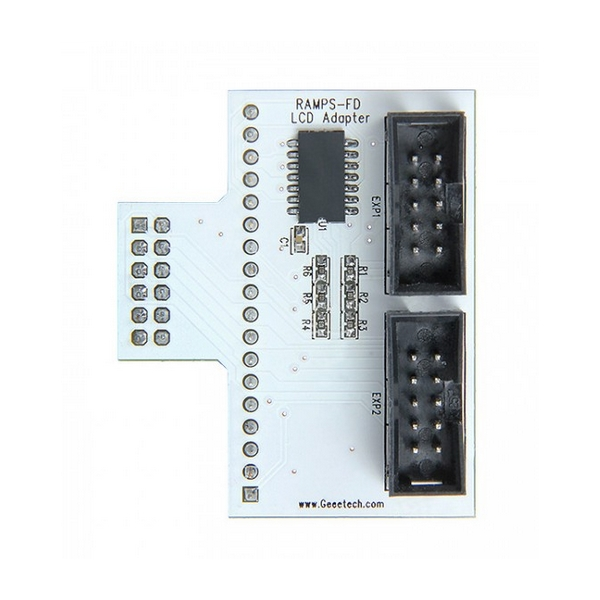 New Arrival Geeetech Ramps-FD Adruino DUE LCD Control Panel Adapter For 3D Printer