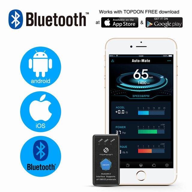 Pic18f25k80 ELM327 V1.5 Wi-Fi Bluetooth Obd2 OBD 2 1.5 диагностики авто код сканер как EasyDiag диагностики авто сканер ELM 327 - Цвет: Automate bluetooth