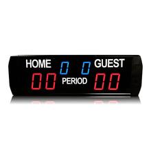 [Ganxin] 2019 przenośna tablica wyników wyświetlacz cyfrowy tablica wyników piłki nożnej tanie tanio GI6T-(3+2 3)R scoreboard