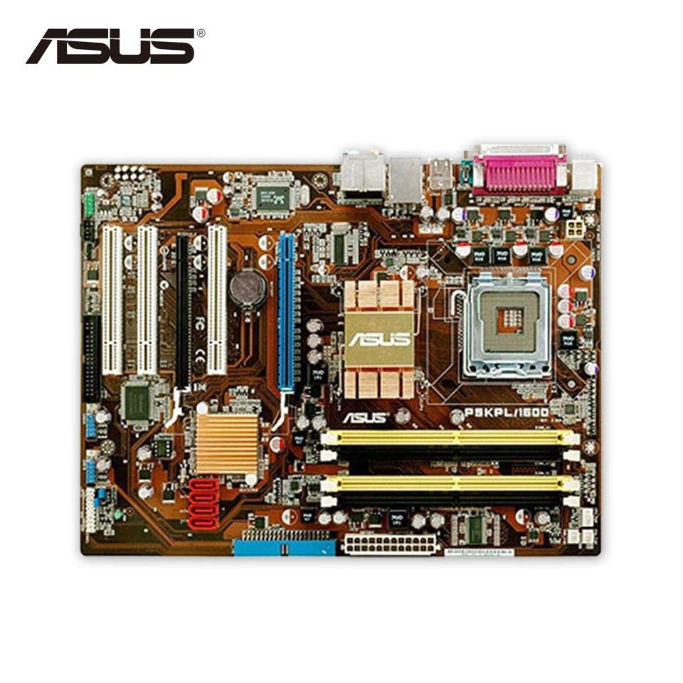 Asus P5KPL/1600 Original Used Desktop Motherboard G31 Socket LGA 775 DDR2 4G SATA2 UBS2.0 ATX asus original motherboard g31m s2l g31 ddr2 lga 775 motherboard