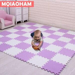 Image 4 - Tapete de eva para crianças com 9/18/pçs/set, mais novo tapete de mosaico de espuma para brincadeiras, desenvolvimento de bebês e engatinhando tapetes de quebra cabeça