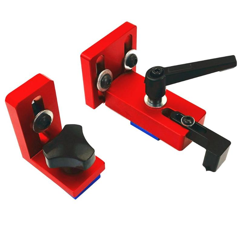 Woodworking 30/45 Type T-tracks Chute Backing Miter Rail Chute Connector