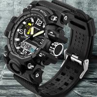 Mens Watches 2016 SANDA Fashion Watch Men G Style Waterproof Sports Military Watches Shock Luxury Analog Digital Sports Watches