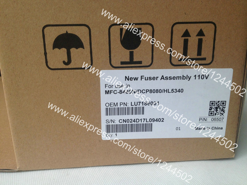 Compatible fuser assembly for Brother MFC8480N DCP8080 HL5340 110V LU7186001 refillable color ink jet cartridge for brother printers dcp j125 mfc j265w 100ml