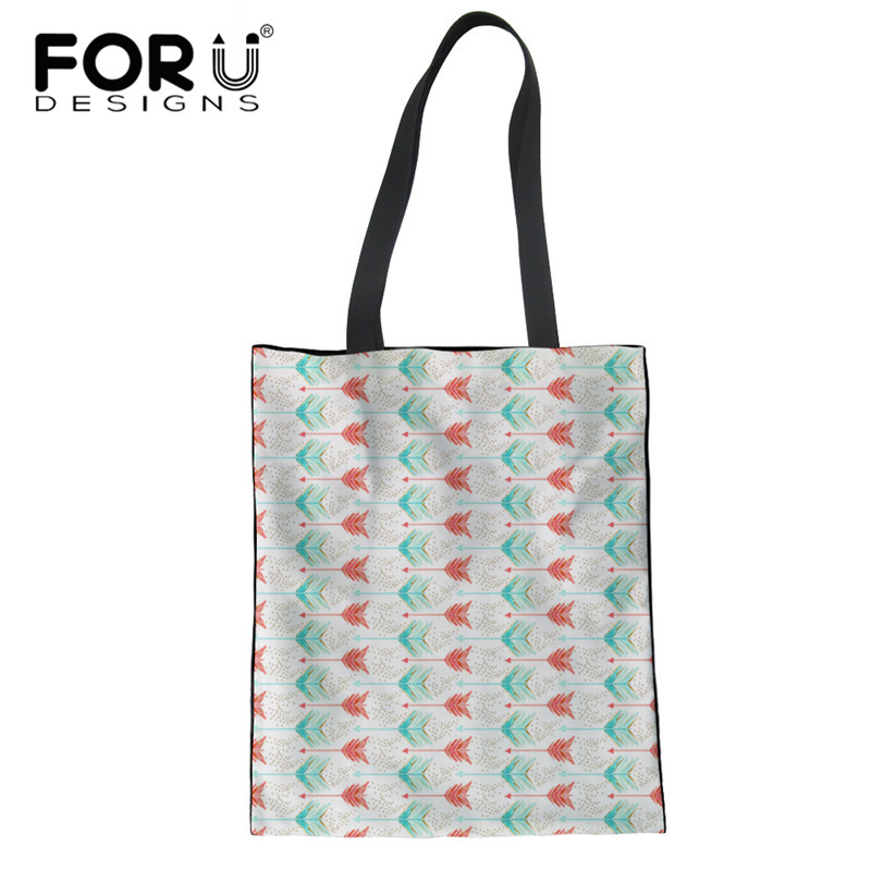 A Shot In Water Pattern Foldable Recycle Bag Eco Reusable Shopping Bag Tote Folding Pouch Large Handbags