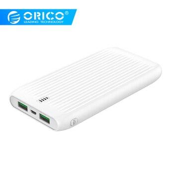 Orico 10000 mah grande capacidade magro power bank dupla usb bateria externa powerbank poverbank carregador para xiaomi telefone móvel
