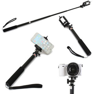 Image 5 - Telescopic Selfie Sticks Self Handheld Extendable Pole Monopod Stick + Phone Holder for XIAOMI Mijia Panoramic 360 Mi Sphere