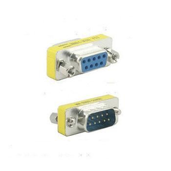 DB9 9pin serial port Female to Male serial port Adapter serial cable converter adapter Free shipping