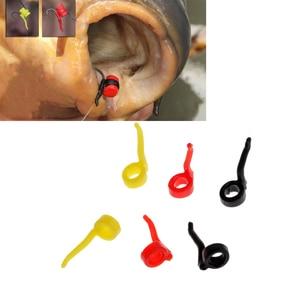 Image 3 - 6Pcs Carp Fishing Aligner Sleeves Hook Sleeves Carp Hair Rigs Terminal Tackle Fishing Tackle Boxes