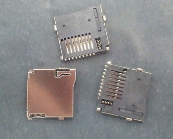 50PCS/LOT TF card connector, micro sd card connector, memory deck son, TF card sets with self-bomb