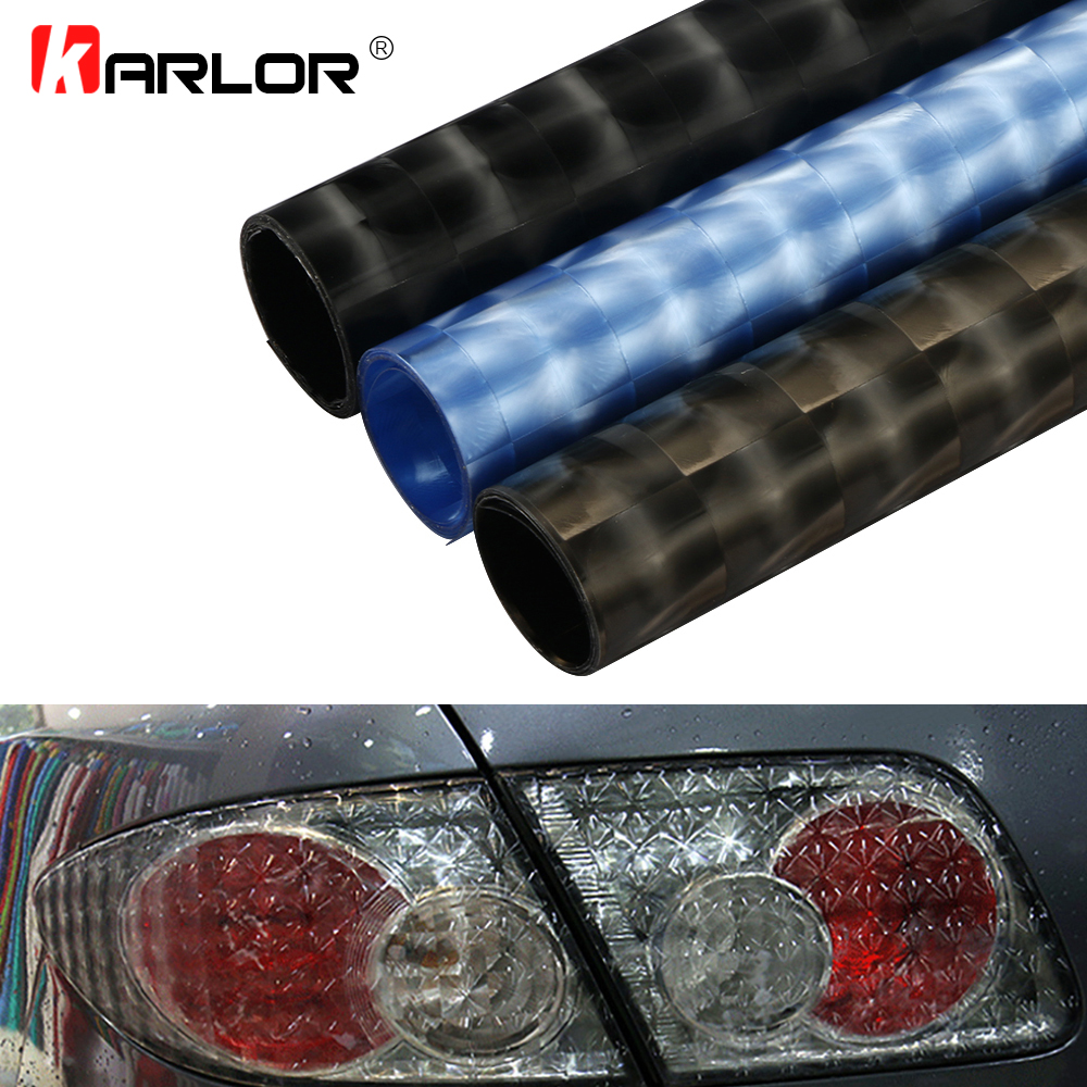 30*150cm Cat Eye Car Light Tint Vinyl Film Auto Headlight Taillight Foglight Decorative Sticker Wrap Lamp Tint Film Car Styling