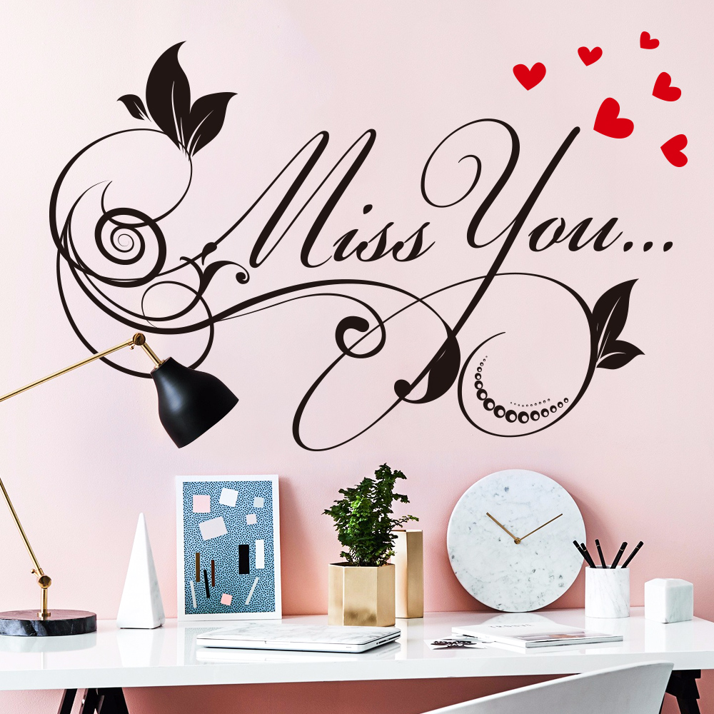 Wall Sticker PVC Letter Pattern  House school home boy bedroom wall decals window poster 3d  wall sticker wallpaper