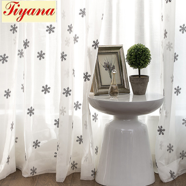 White Sheer Curtains Grey Ready Made Fabric For Tulle Windows Living Room Bedroom