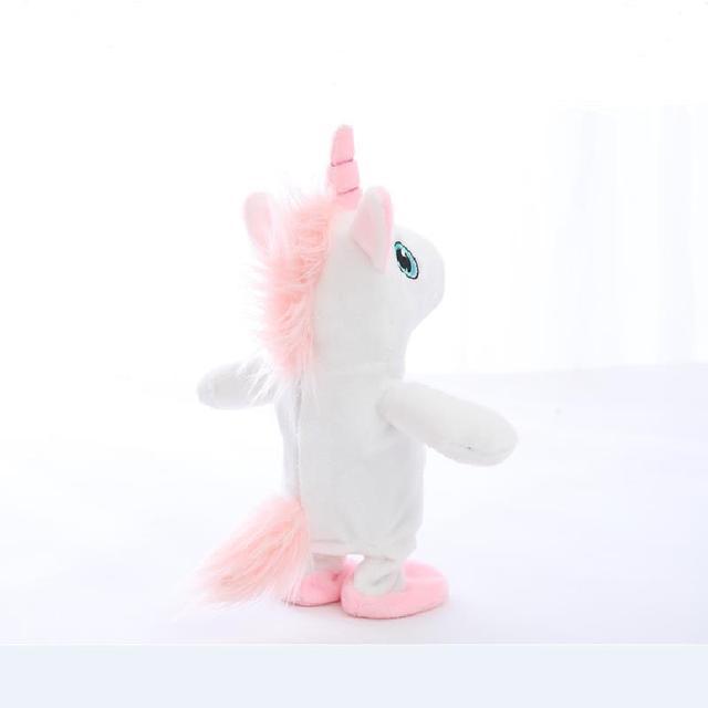 Creative Unicorn Walking Sound Record Toy