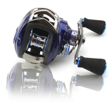 купить High Quality Reel 13+1 Ball Bearings Fishing Gear Water Drop Wheel Right/Left Hand Bait Casting Fishing Reel Lure Reel дешево