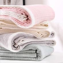 Четырехслойное Марлевое Хлопковое одеяло от морщин для взрослых, муслиновое Хлопковое одеяло, мягкое моющееся хлопковое Марлевое домашнее постельное белье, диван