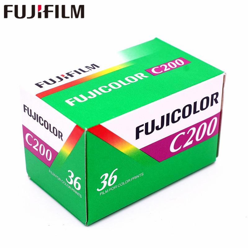 1 rollo Fujifilm Fujicolor C200 Color 35mm película 36 exposición para formato 135 Holga 135 BC Lomo