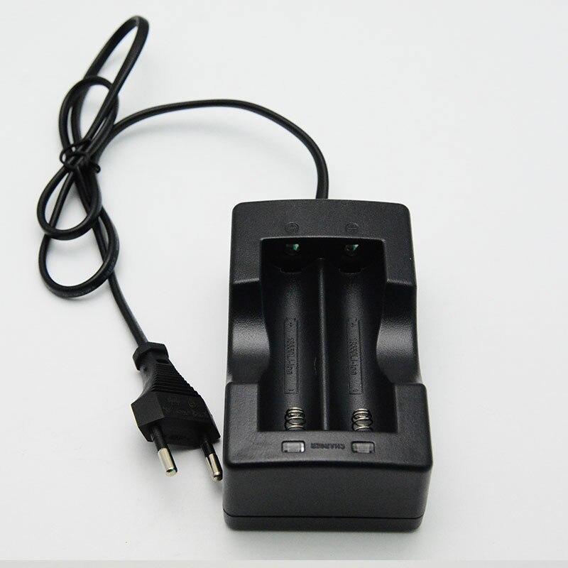 KingWei 809 chargeur 18650 3.7 v chargeur de batterie Double Li-ion chargeur rapide de batterie avec câble