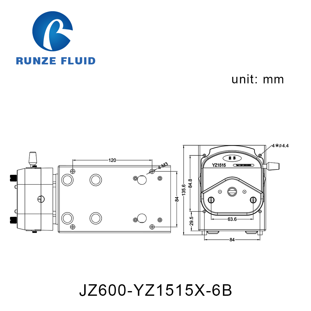 Speed Adjustable Dirty Water Tranfer Peristaltic Pump 220v Ac Motor Bt300 Vfd Wiring Diagram In Pumps From Home Improvement On Alibaba Group
