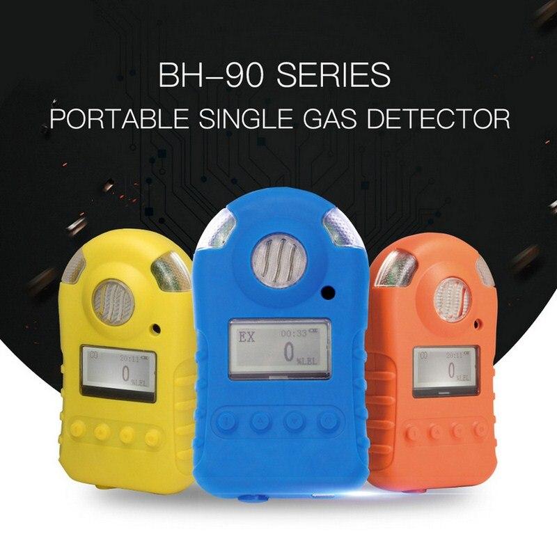 Portable Single Gas Detector Digital Oxygen Meter LCD Display Gas Tester Rare Gas Sensor Gas Analyzer Meter with Audible AlarmPortable Single Gas Detector Digital Oxygen Meter LCD Display Gas Tester Rare Gas Sensor Gas Analyzer Meter with Audible Alarm