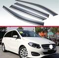 Для Mercedes-Benz B-Class W246 B220 B250 B180 B200 2013-2018 пластиковый внешний козырек вентиляционные Шторы окно Защита от солнца и дождя дефлектор