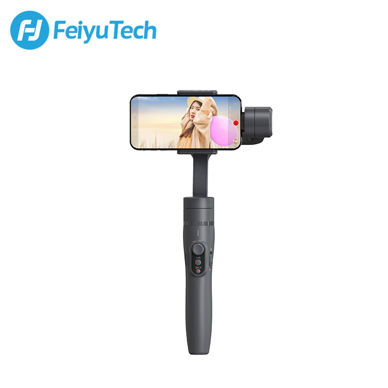 FeiyuTech Vimble 2 Feiyu 3-Axis Handheld Smartphone Gimbal Stabilizer with 183mm Pole Tripod for iPhone X 8 7 XIAOMI Samsung feiyutech vimble 2 smartphone gimbal 3 axis gopro gimbal 18cm extendable stabilizer for iphone x 7 plus samsung vs xiaomi gimbal