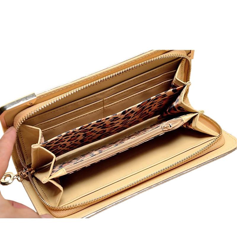 8710681b721 SMILEY SUNSHINE luxury women wallets wristlet female gold big wallet for women  famous brand ladies clutch purses long wallet bag-in Wallets from Luggage  ...