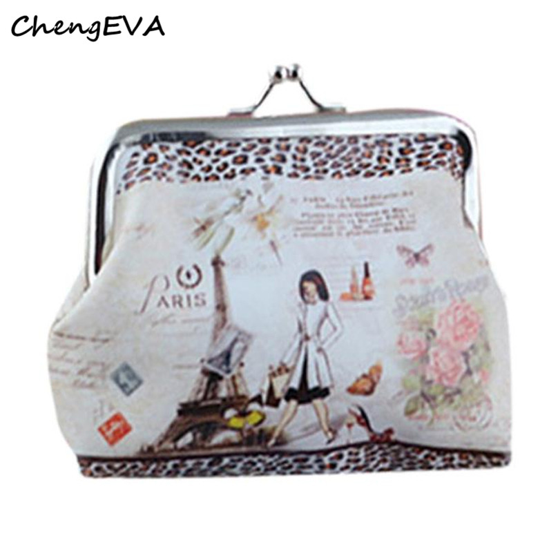 ChengEVA 1PC Womens Small Wallet Card Holder Coin Purse Clutch Handbag 100% brand Hot Sale Attractive Elegant Luxury Nov 23 antique brass dual cross handles swivel kitchen bathroom sink basin faucet mixer taps anf103