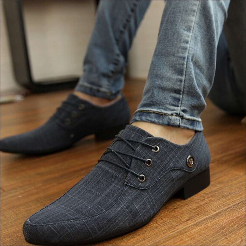 Shoes Mens Casual Shoes Low-Top Fashion Shoes Breathable British Style Lace-up Shoes Dress Shoes