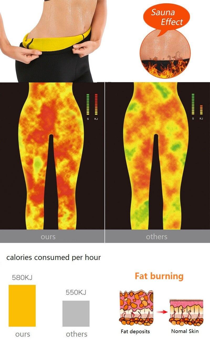 Slimming Pants Women Neoprene Sauna Suit Control Panties Weight Loss Hot Sweat Waist Trainer Body Shaper Shorts Keep Warm (11)