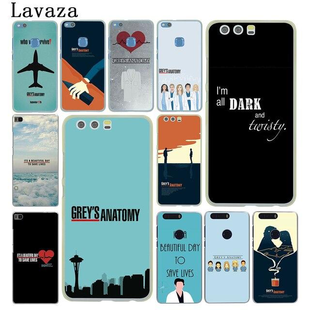 Lavaza cinza é cinza's anatomy Rígido Tampa Do Telefone para Huawei P8 P9 P10 P20 P30 Lite Plus P20 P30 pro P inteligente 2019 Caso