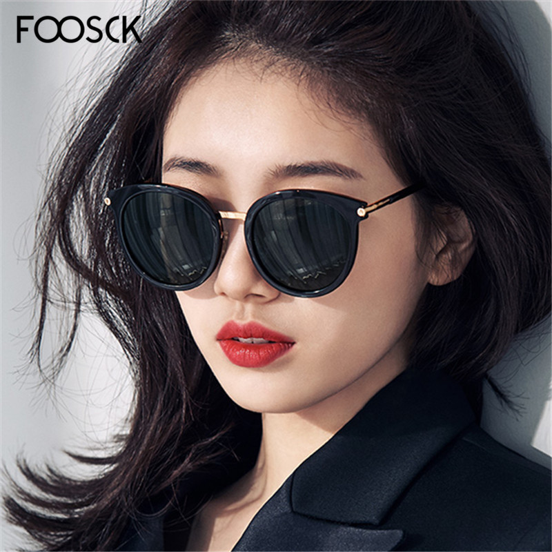 FOOSCK Ladies Sunglasses Mirror-De-Sol Square Unisex Women Fashion Brand Eyewear UV400