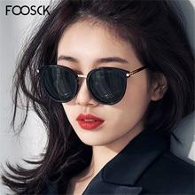 FOOSCK Fashion Ladies Sunglasses Brand Unisex Square Sun gla