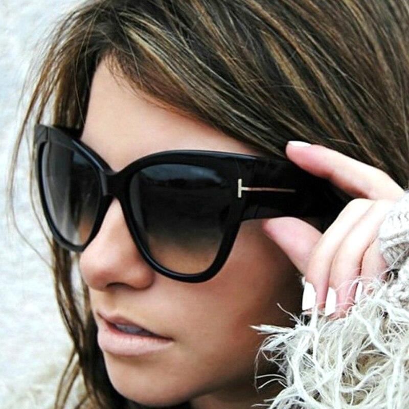 New Fashion Cat EyeS Sunglasses Women 2018 Brand Designer Vi