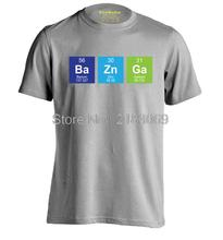 Bazinga on the Periodic Table men's t-shirt