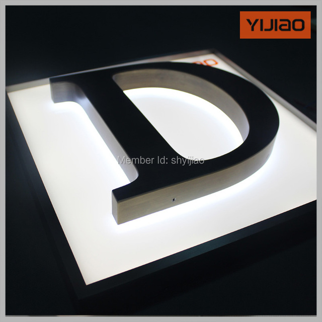 Where Can I Buy Decorative Metal Letters Gorgeous Aliexpress  Buy Decorative Large Metal Letters With Lights Design Ideas