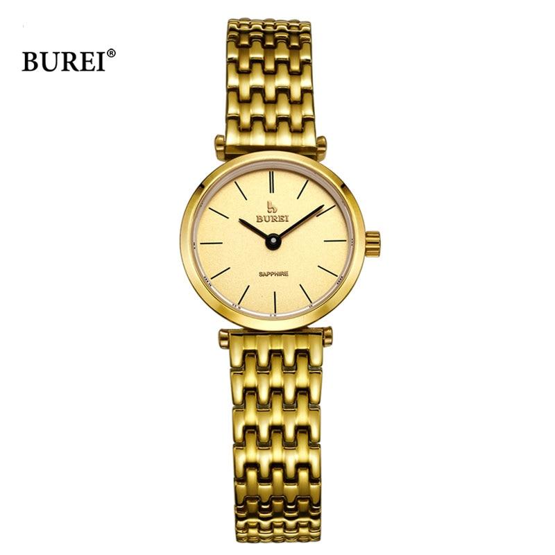 BUREI 2017, женские часы, Топ бренд, роскошные женские кварцевые наручные часы, женские модные водонепроницаемые часы, женские часы, Relogio Feminino - 4