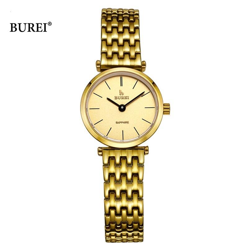 BUREI 2017 Frauen Uhren Top Marke Luxus Damen Quarz Armbanduhr Frauen Mode Wasserdichte Uhr Stunden Frau Relogio Feminino - 4