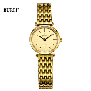 Image 4 - Relogio Feminino BUREI 브랜드 여성 패션 시계 숙녀 럭셔리 방수 크리스탈 사파이어 석영 손목 시계 Reloj Mujer 2020