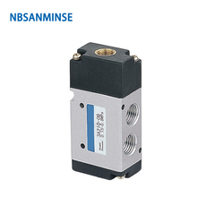 NBSANMINSE 3A210 3A220 G1/4 Air Pneumatic Control Valve Two Position Three Way AirTAC Type 0.15-0.8MPa