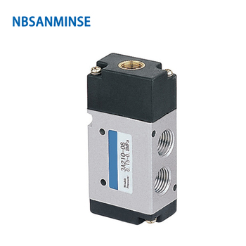 NBSANMINSE 3A210 3A220 G1/4 Air Pneumatic Control Valve Two Position Three Way AirTAC Type 0.15-0.8MPa g1 1 2 2l us series solenoid valve steam type two position two way 2l300 40