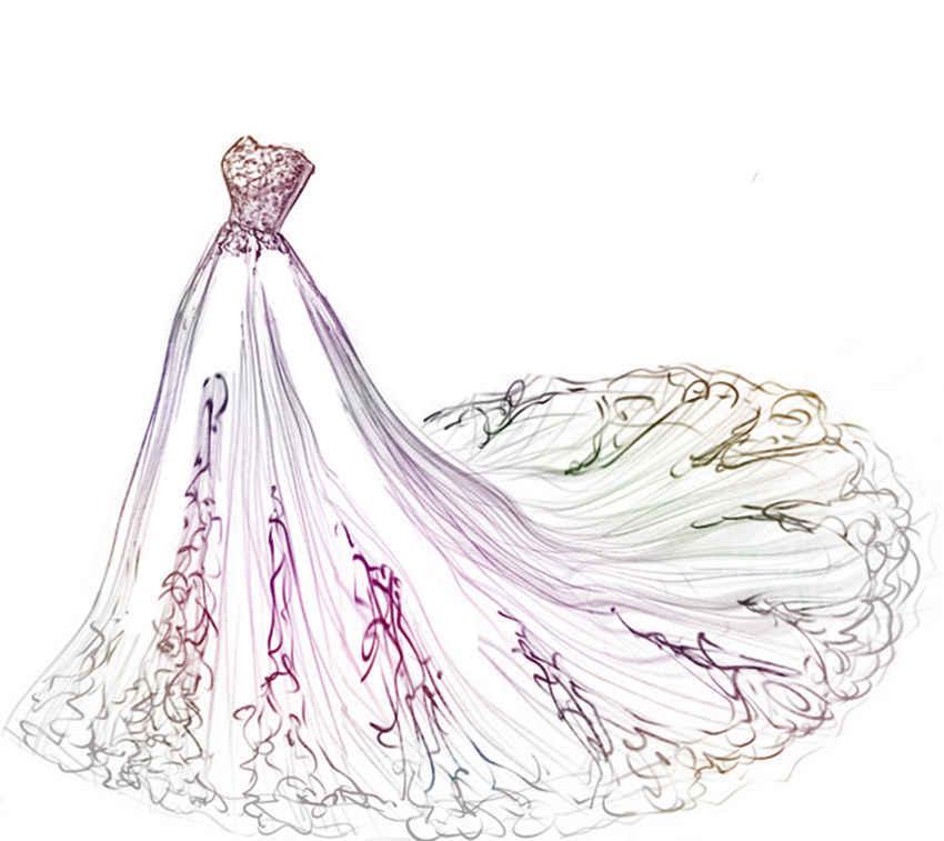 PANFELOU Tuyệt Đẹp đầm đầm cưới thủ công kim loại giấy chết cắt chết Scrapbooking/DIY Dập Nổi Valentine thẻ Ngày của