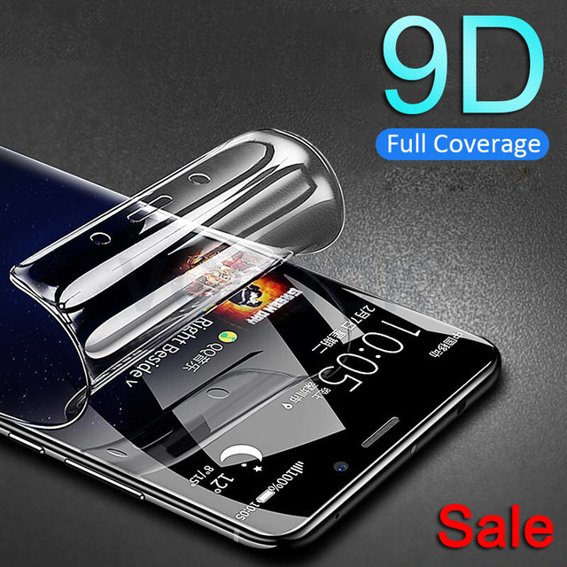 Screen Protector For Samsung Galaxy S9 S8 Plus S7 Edge Note 8 9 Screen Protector Samsung A6 A8 Plus 2018 Soft Film Full Cover