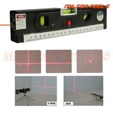 5 в 1 блистерные Лазерные уровни метр Горизонт Вертикальная Магнитная измерительная лента выравниватель лазерные маркировочные линии Линейка Инструмент