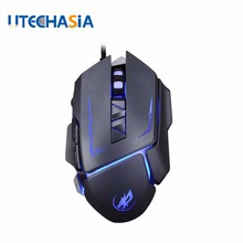 NEW Wired Gaming Mouse Professional 3200dpi USB Optical Mouse Gamer Mice 6 Buttons Computer Mouse Gaming For PC Laptop optical gaming mouse professional 3200dpi adjustable 6 buttons 6d pro pc computer mice usb wired led light mouse gamer black