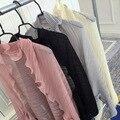 Frauen Mode Reine Farbe Rüsche Chiffon-Hülse Arme 2019 Sommer Elegante Strand Schal Langarm Schal UV Hülse Halter manschetten