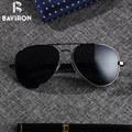 BAVIRON Teardrop Вождения солнцезащитные очки Мужчины Алюминия Поляризованные Очки Классические Авиаторы Очки Мужской Топ Очки UV400 Gafas 8026